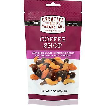 Creative Snacks Nuts Coffee Shop Grab Go, Case of 6 X 3 Oz