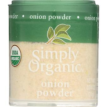 Simply Organic Mini Onion Pwdr Org, Case of 6 X 0.74 Oz