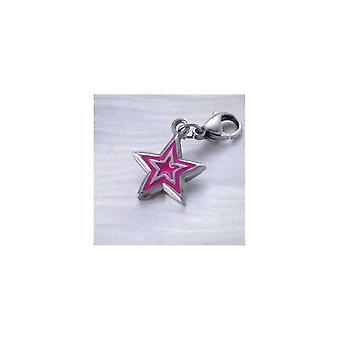 Naisten beads Time Force Hm004c Hopea Pinkki (1,3 cm)