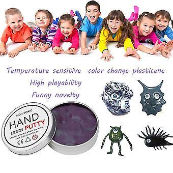Αλλαγή χρώματος plasticine ανόητο στόκο δημιουργικό αποσυμπίεσης για τα παιδιά ενήλικες