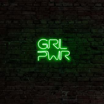 Girl Power - Grön grön vägglampa