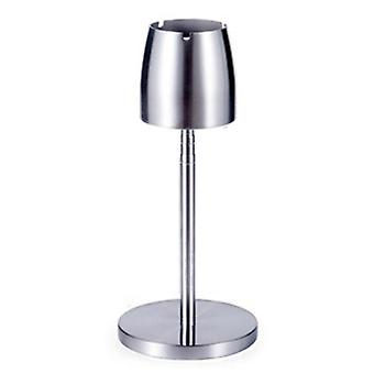 Portable Adjustable Height Telescopic Standing Ashtray Stainless Steel Floor Stand Ash Tray