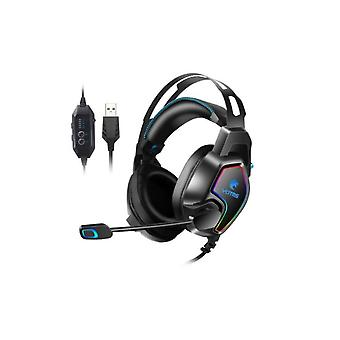 Gaming  Headset  Kotion Each  Zby2  Dual Motion-7.1 Channel - Usbblack  Blue