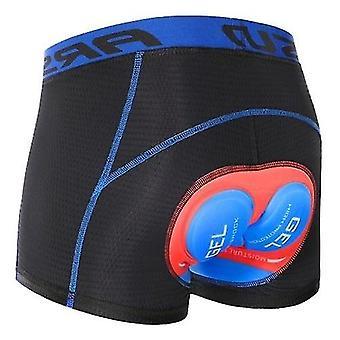 Shorts de bicicleta cuecas homens ciclismo shorts cueca leve respirável 5d padded mtb shorts