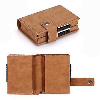 Wallet anti-theft credit card holder RFID credit card wallet(Color-5)