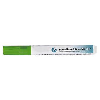 Bladgroen watergebaseerd porselein en glas versieren ambachten Marker Pen