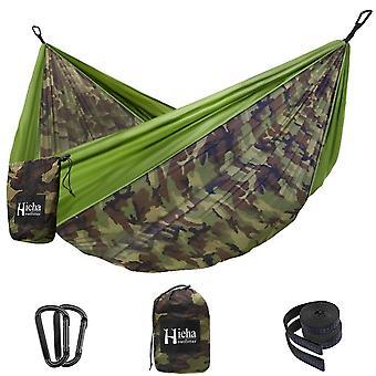 Famly Faldskærm Nylon Hængekøje Udendørs Have Travel Camping Swing Hængende Seng