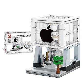 City Street Mobile phone shop Building Blocks Model Toy for  Children Mini Gift,Copoz