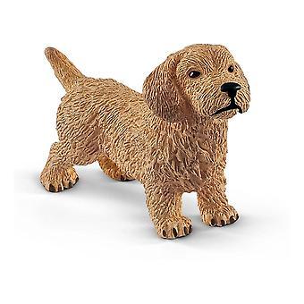 Boerderij Wereld Teckel Hond Speelgoed Figuur