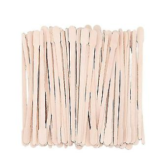 Disposable Wooden Waxing Stick Wax Bean - Hair Removal Beauty Bar Body Beauty