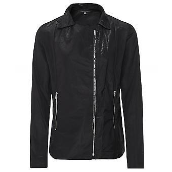 Lurdes Bergada Memory Fabric Biker Jacket
