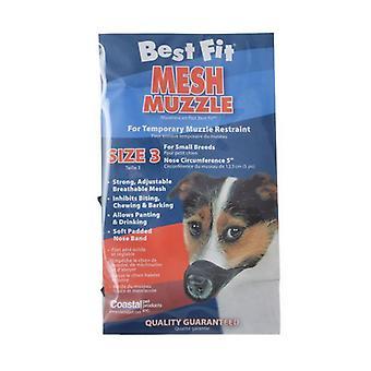 Nylon Fabridog Bästa passform Nosparti - Storlek 3 (Hundar 12-24 lbs)