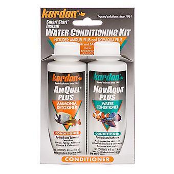 Kordon NovAqua + AmQuel Start Smart Instant Water Conditioning Kit - 4 oz