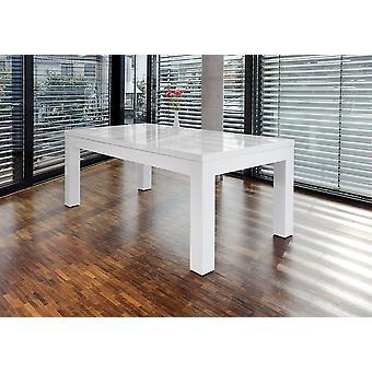 Tomasso's Faenza Dining Table - Modern - White - Mdf - 180 cm x 90 cm x 75 cm