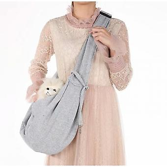 Portable Foldable One-shoulder Cat Backpack For Pets 83*45cm (style 8)
