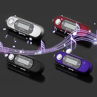 Mini Usb 2.0 flash meghajtó nagy sebességű adatátvitel LCD kijelző Mp3 zenelejátszó