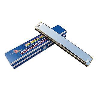 Nyckel till C Munspel Instrument Accent Wide Range 28 hål Munspel