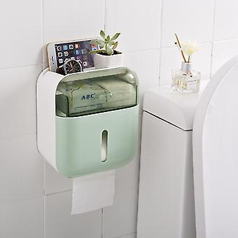 Naścienny dozownik chusteczek toaletowych, przenośny uchwyt na papier toaletowy, tissue box, akcesoria łazienkowe