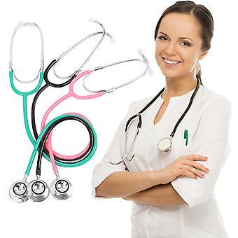 Doble Cara Cardiología Médica Médico Estetoscopio Profesional Médico Estetoscopio Cardíaco