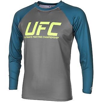 UFC TUF Team Pettis Rashguard - Grey/Dark Teal