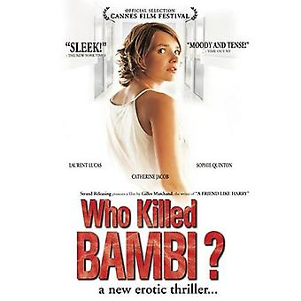Who Killed Bambi [DVD] USA import