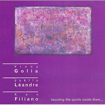 Golia Leandre Filiano Trio - Haunting the Spirits Inside Them [CD] USA import