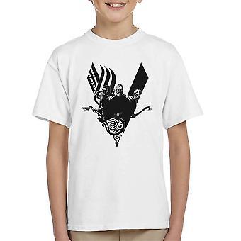 Plunder Vikings Ragnar Lothbrok Kid's T-Shirt