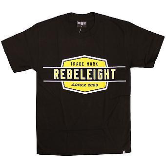 Rebel8 Oversize Work Badge T-shirt Black