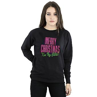 National Lampoon's Christmas Vacation Women's Kiss My Ass Sweatshirt