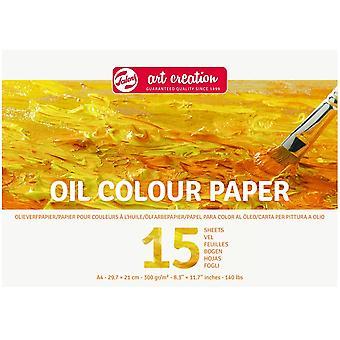 Royal Talens Art Creation A4 Oil Colour Paper Pad