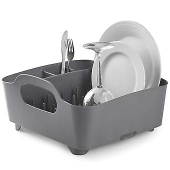 Umbra Tub Dish Rack Charcoal
