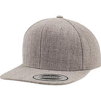Flexfit por Yupoong Mens Premium clásica lana plástico Snapback gorra