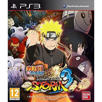 Naruto Shippuden Ultimate Ninja Storm 3 (PS3) - Als nieuw