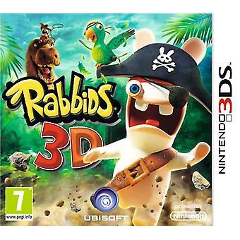 Rabbids 3D (Nintendo 3DS) - New