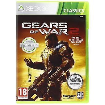 Gears of War 2 komplet samling spil (klassikere) XBOX 360-fabriks forseglet