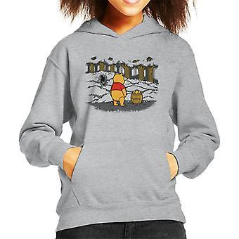 Winnie de Poeh honing val Alien Kid's Hooded Sweatshirt