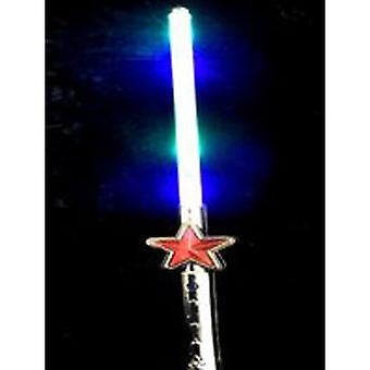 Lyse opp blinkende Star sverd