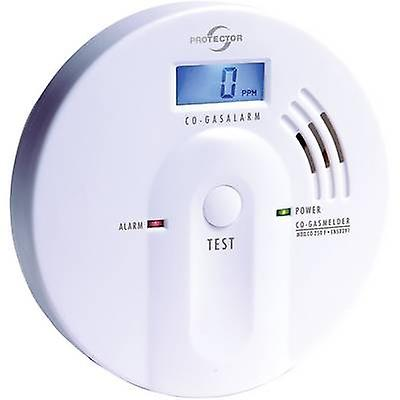 Protector 20565 Gas detector battery-powered detects Carbon monoxide
