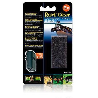 Exo Terra Repti Clear F150 (Reptiles , Humidity Tools , Filters and Pumps)