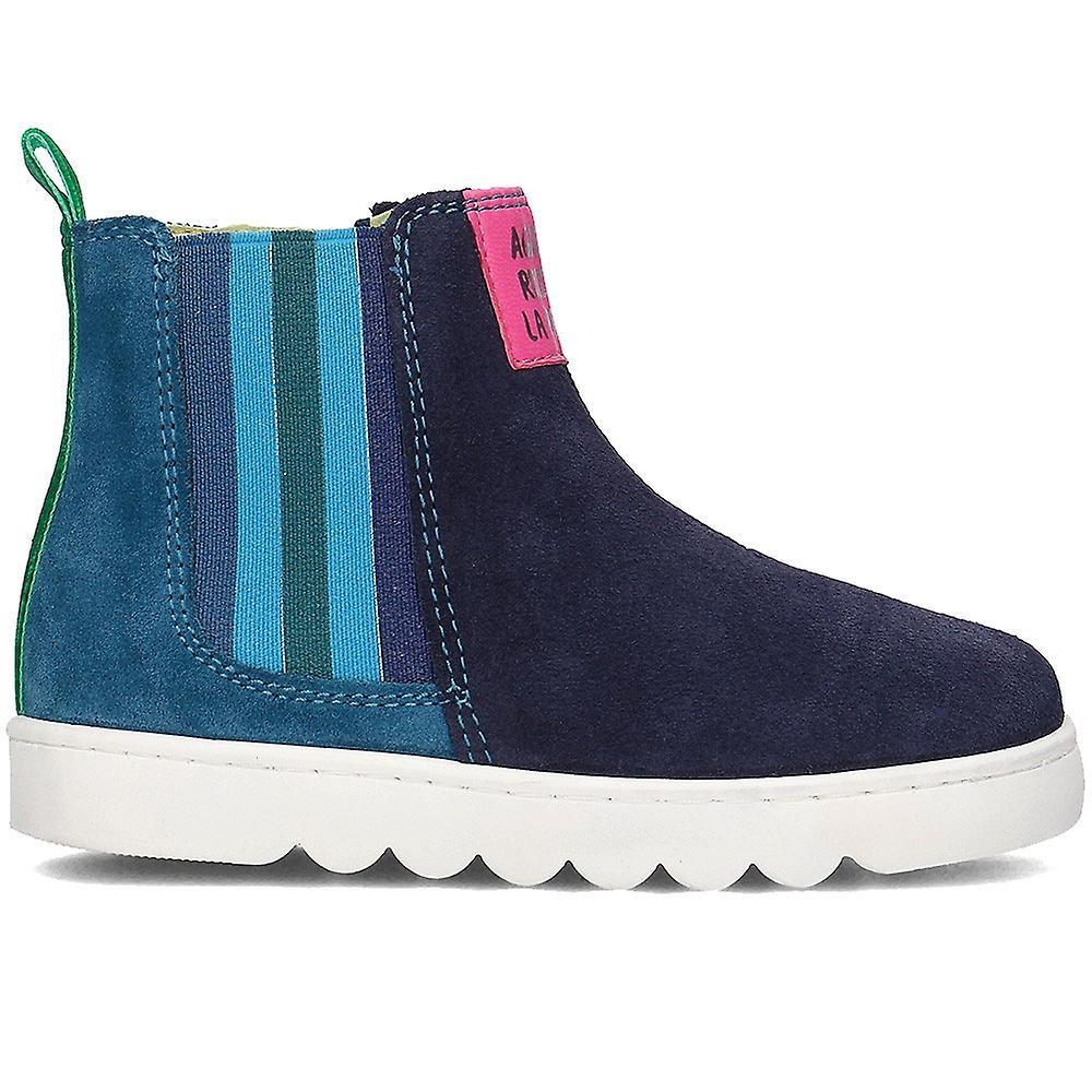 Agatha Ruiz De La Prada 181952 181952aazulmarinoylila Universal Winter Kids Shoes