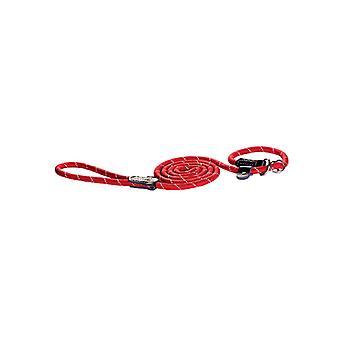 Rogz Rope Moxon Slip Lead Red