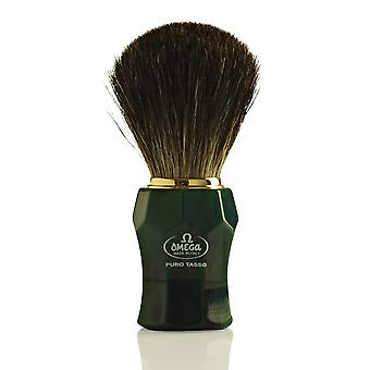 Omega 6152 Pure Badger Hair Shaving Brush