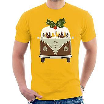 Official Volkswagen Christmas Pudding Camper Men's T-Shirt