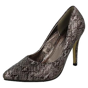 Ladies Anne Michelle Stiletto Heel Court Shoes