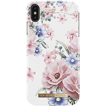 iDeal de Suecia iPhone XS MAX Shell-Floral Romance