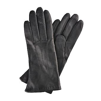Becky Classic Leather Gloves in Black