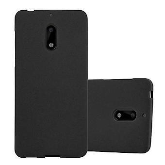 Cadorabo Caso de caja para Nokia 6 2017 Funda de la caja - Funda del teléfono móvil en silicona flexible TPU - Funda protectora de la funda de silicona Ultra Slim Soft Back Cover Case Bumper
