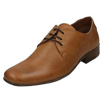 Mens Maverick Smart Lace Up Shoes