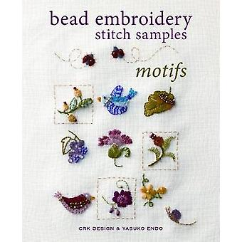 Bead Embroidery Stitch Samples - Motifs by Yasuko Endo - CRK Design -