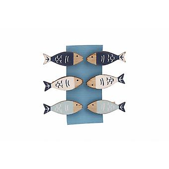Finest Catch Fish Pegs (Pack Of 6)